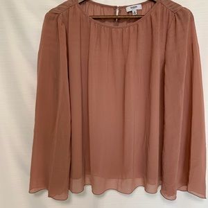 Kenzie jeans pullover blouse size M flaw